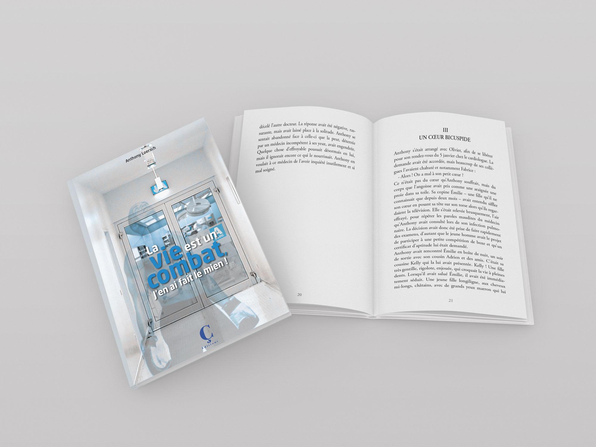 couverture et pages intérieures livre Anthony Loersch