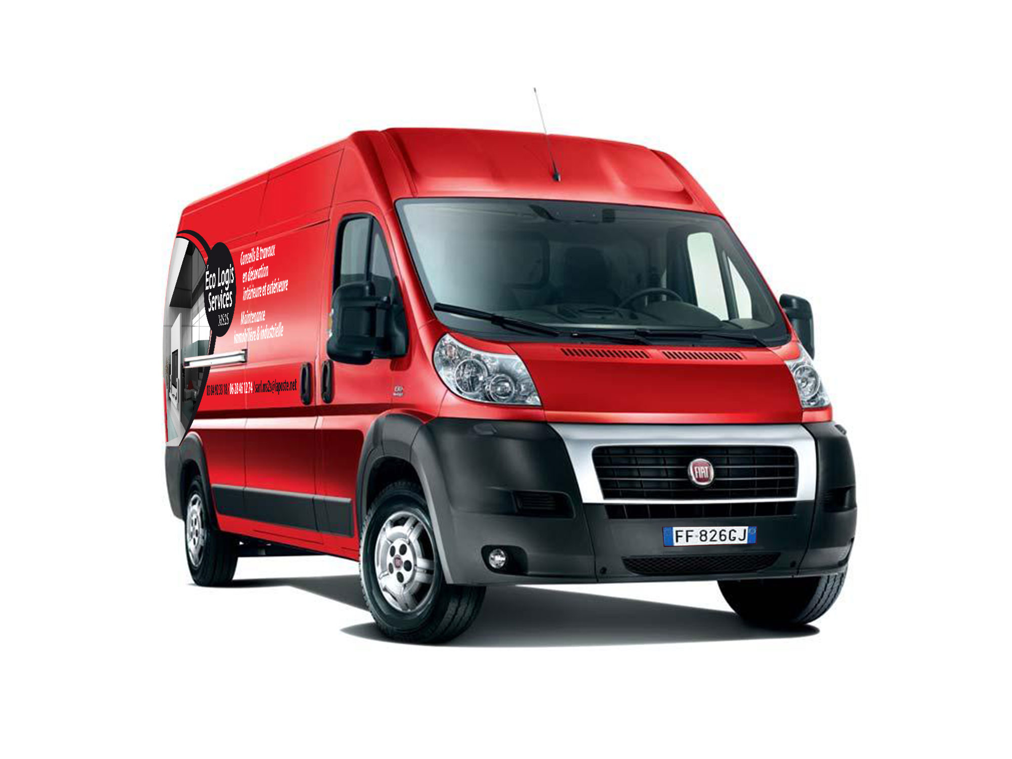 marquage vehicule EcoLogis Services