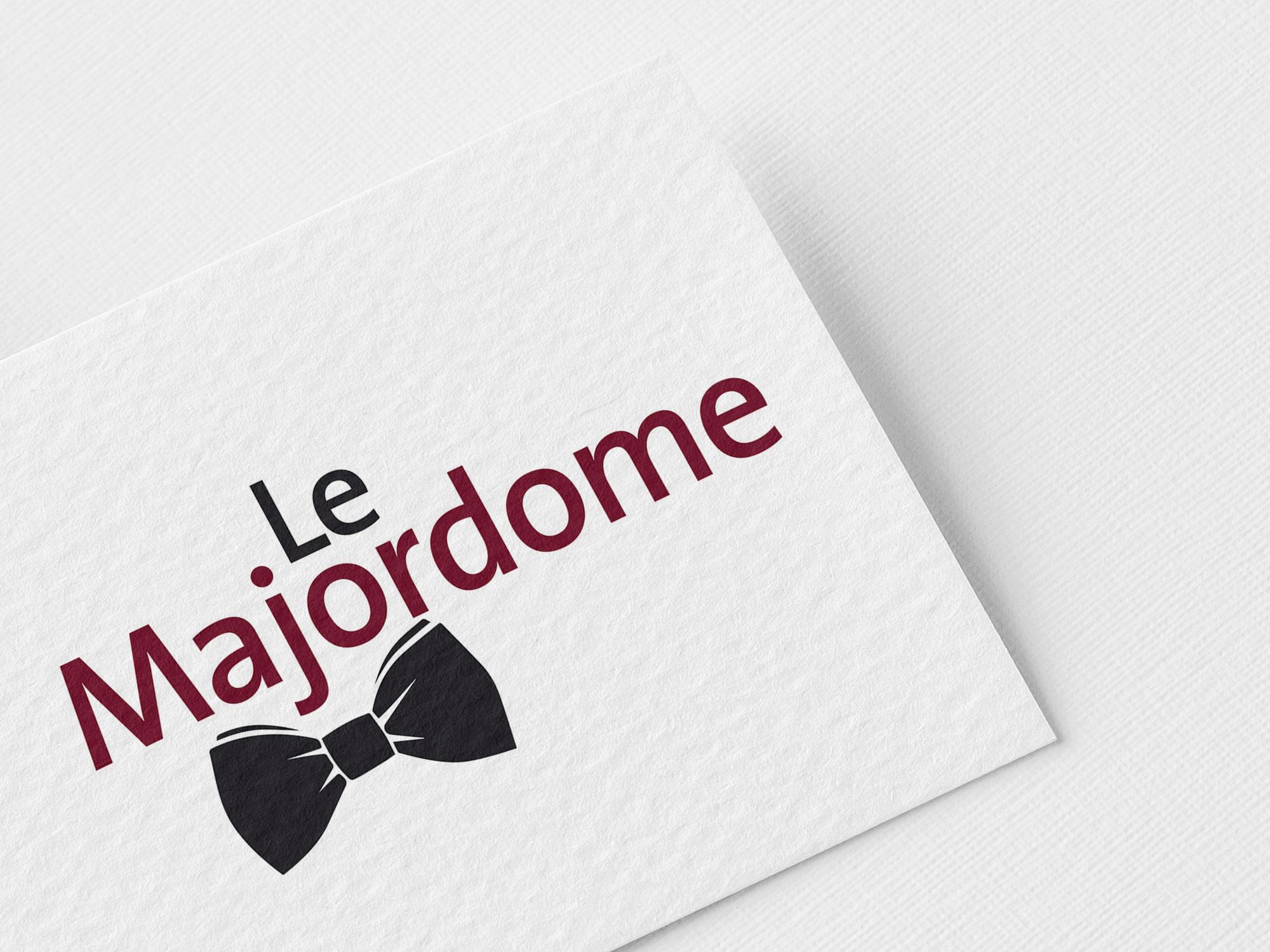 logotype Le mMajordome