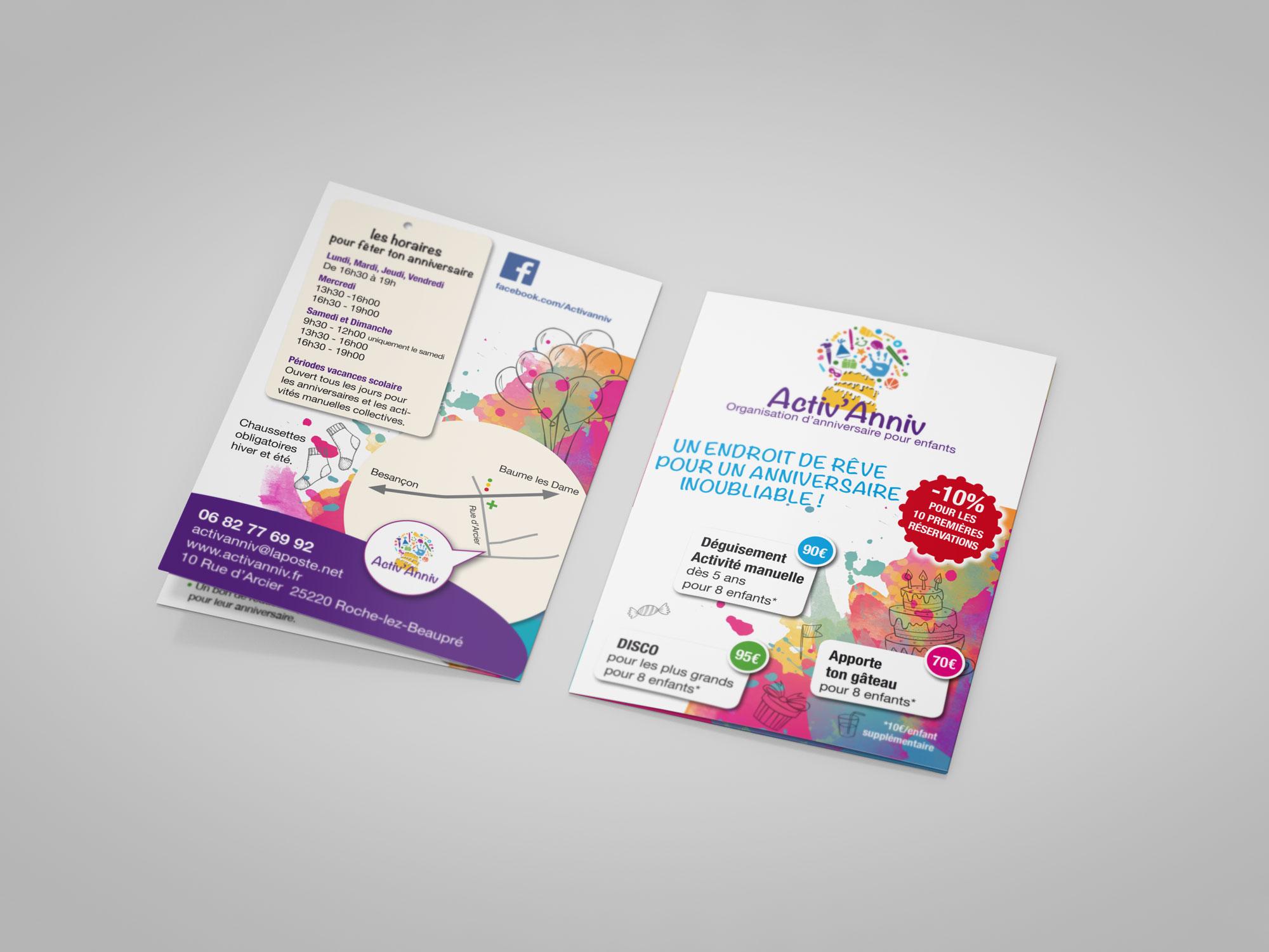 Leaflet Activ'anniv