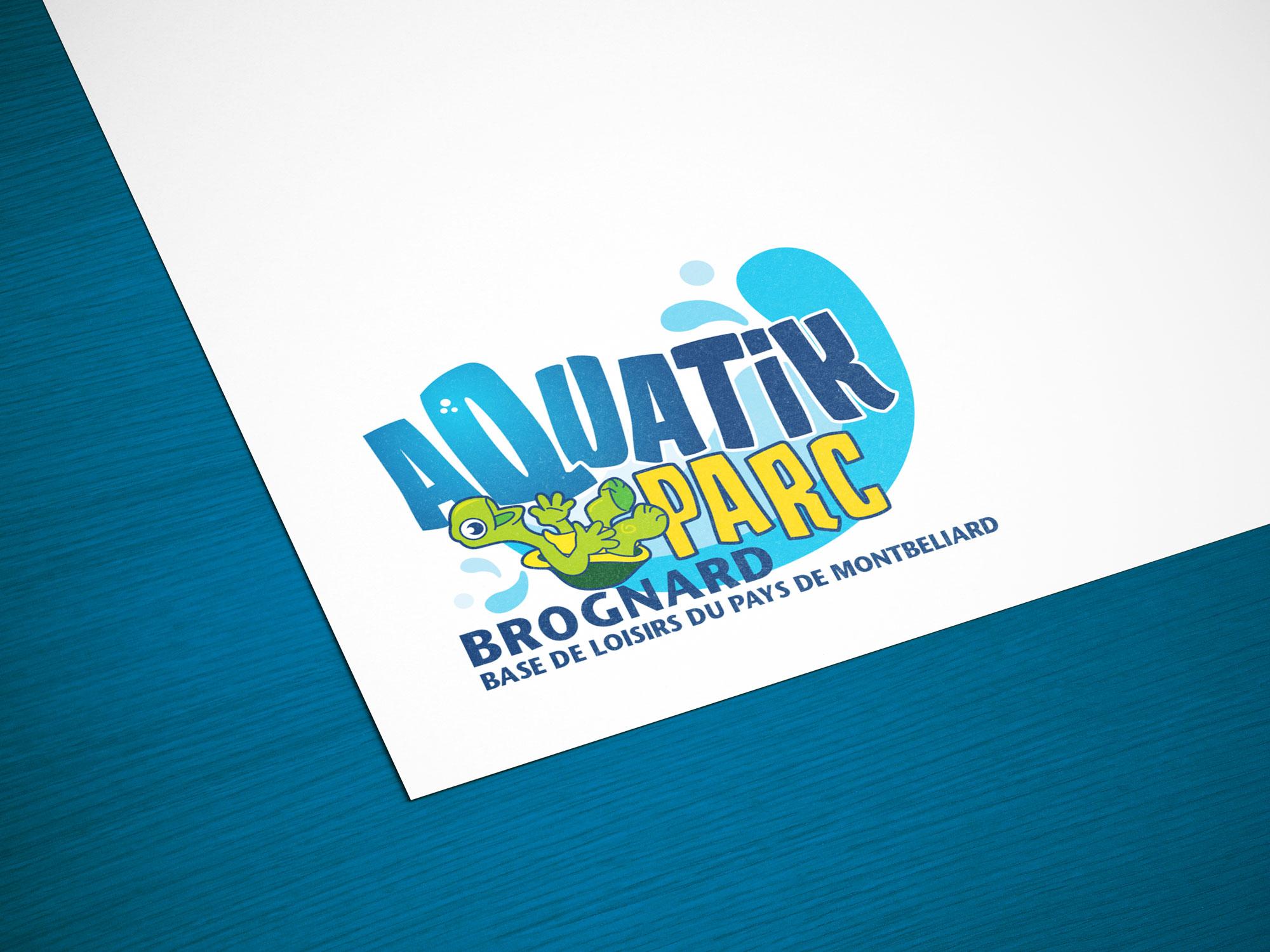 logo Aquatik Parc Brognard