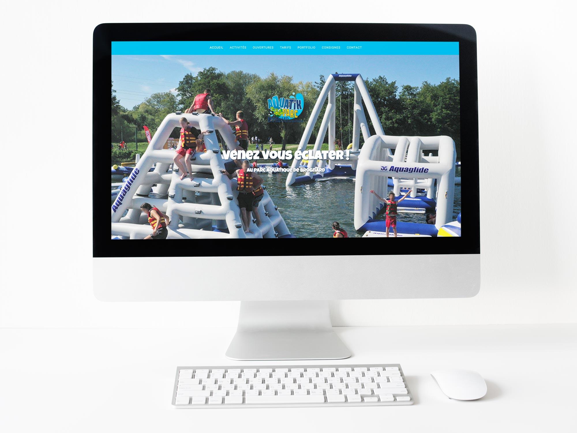 site internet Aquatik parc