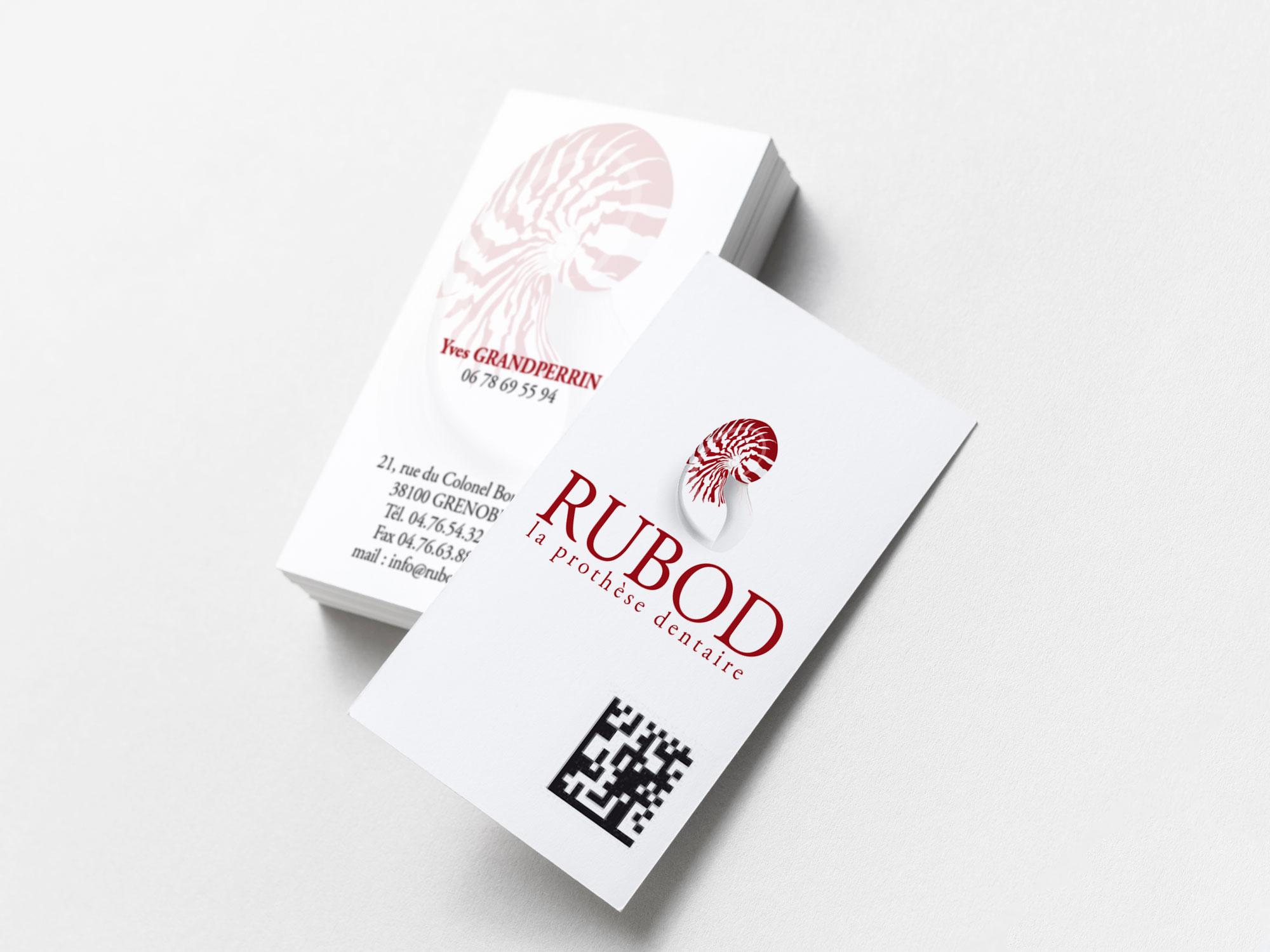 carte de visite Rubod