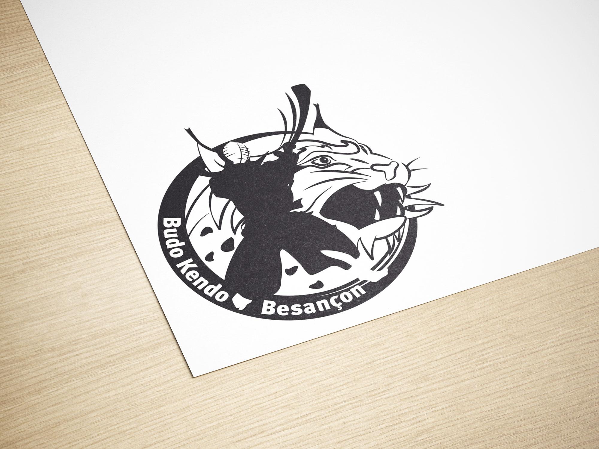 logotype Budo Kendo Besançon