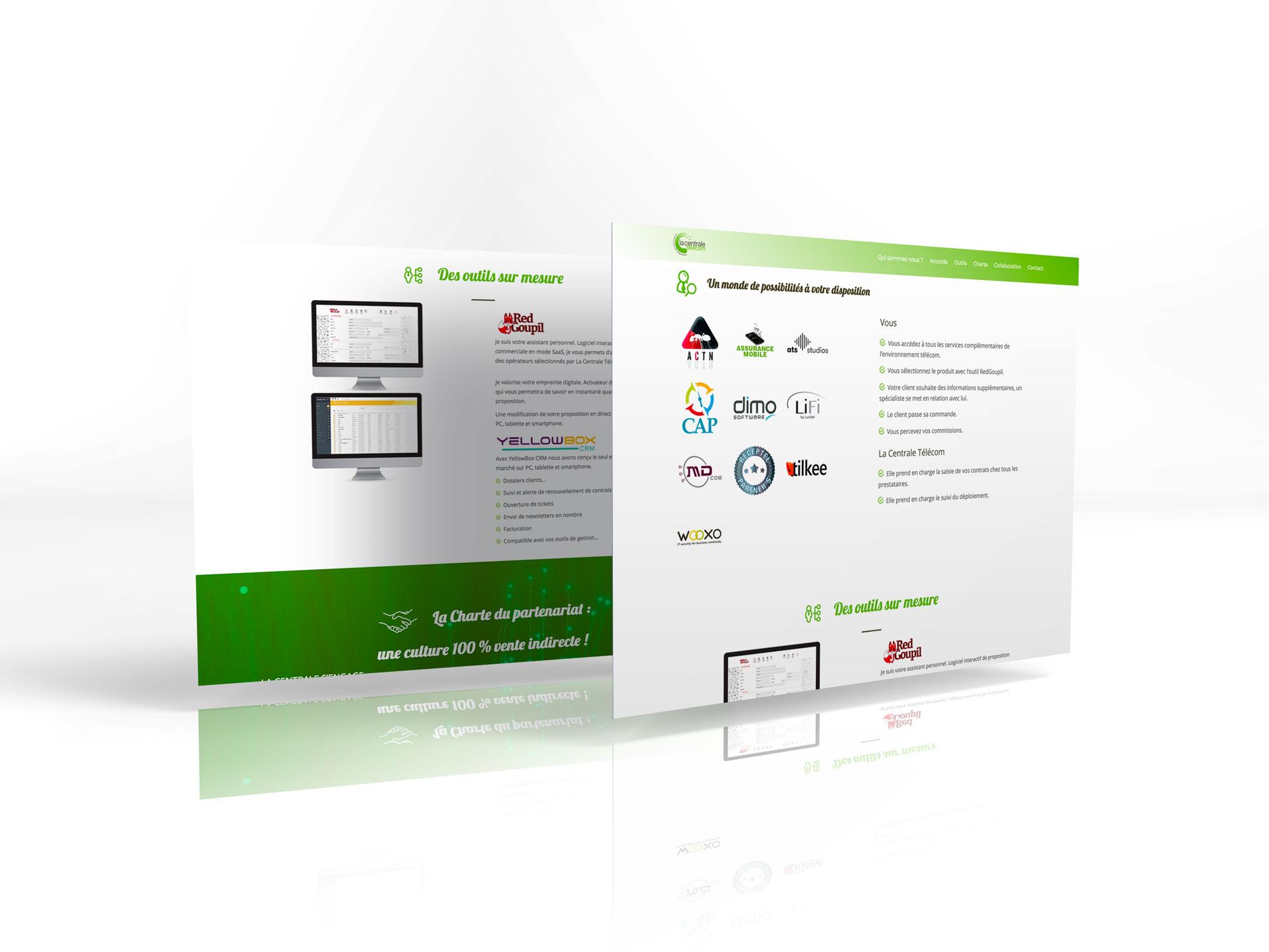 site internet lacentraletelecom pages un monde de possibilité - des outils sur mesure