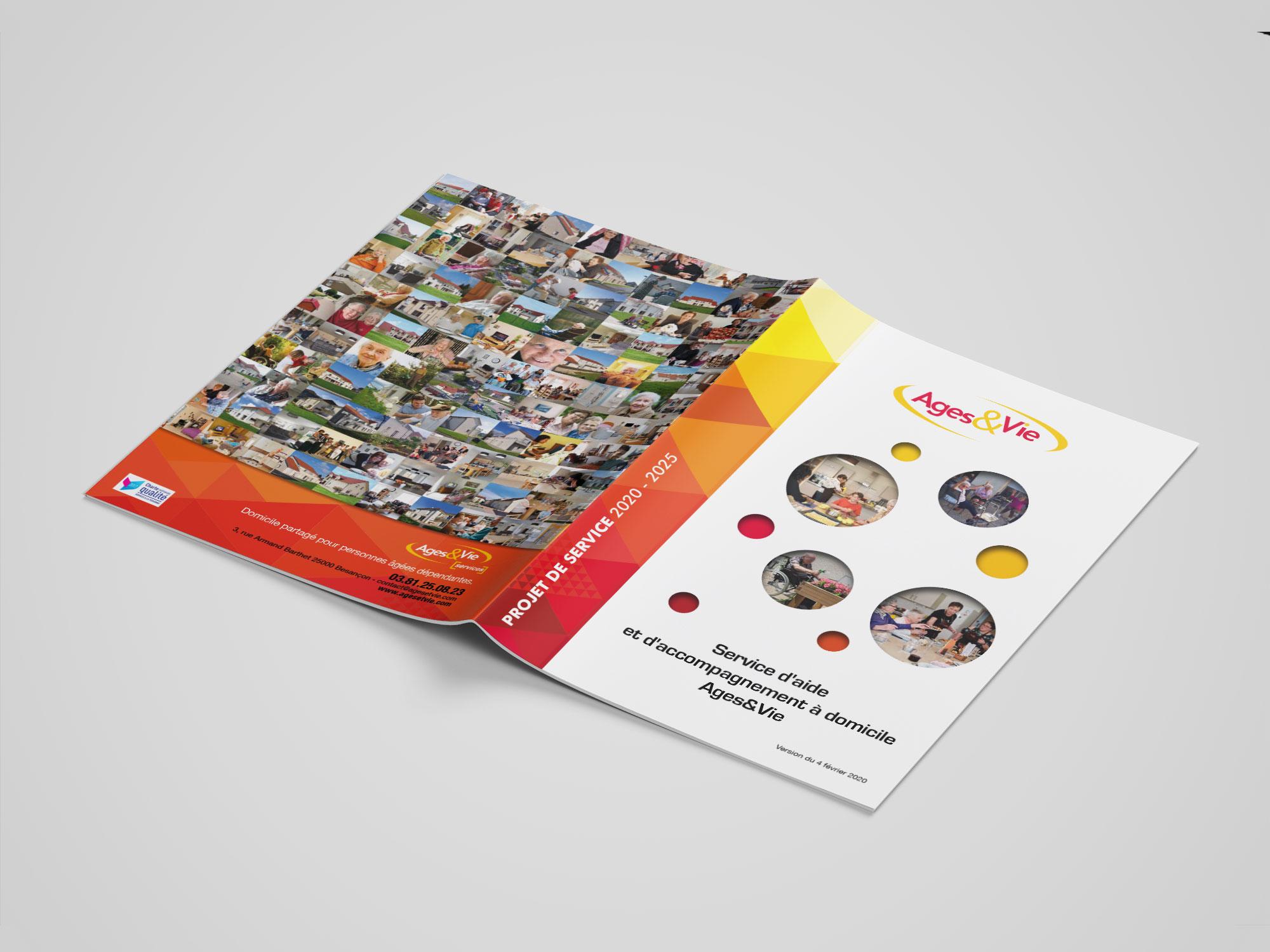 brochure Ages&Vie - projet de service