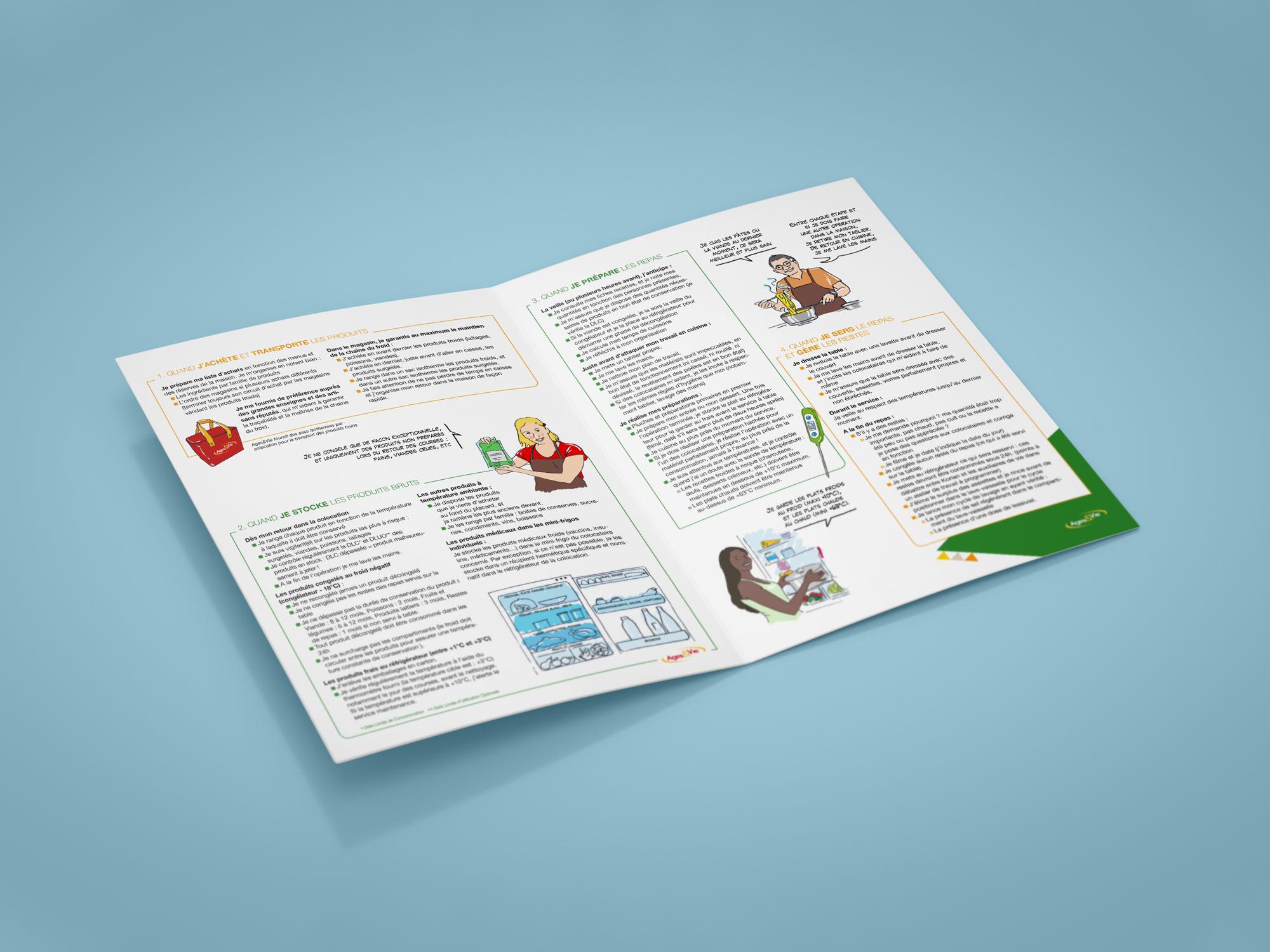 guide Ages&Vie - garantir la sécurité alimentaire - pages intérieures