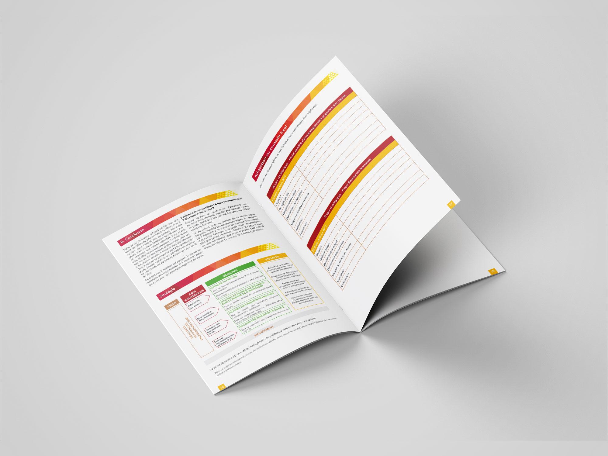 brochure Ages&Vie - projet de service - pages intérieures