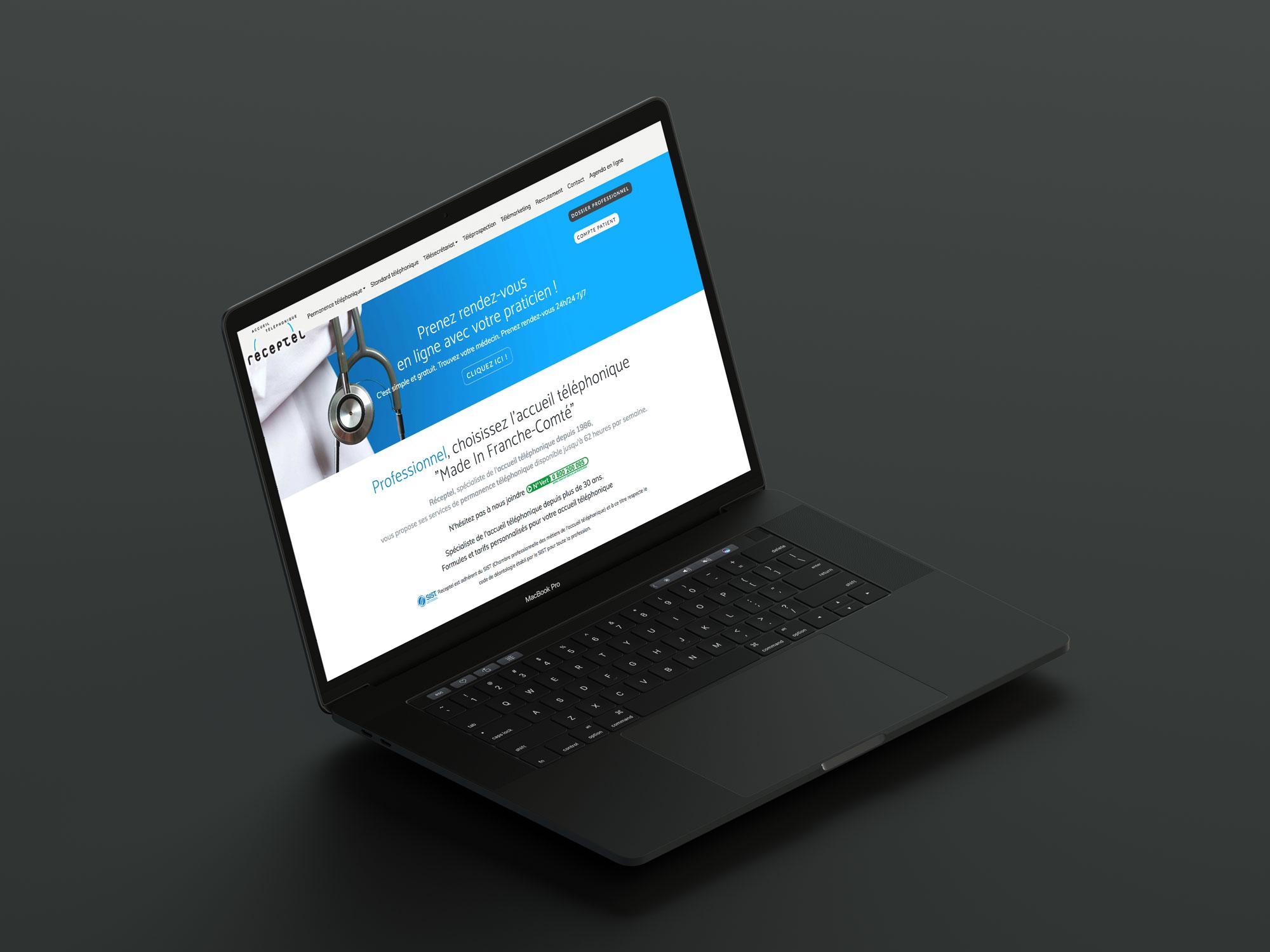 site internet receptel