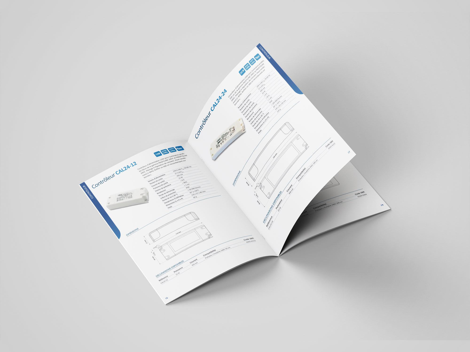 catalogue technique controleur