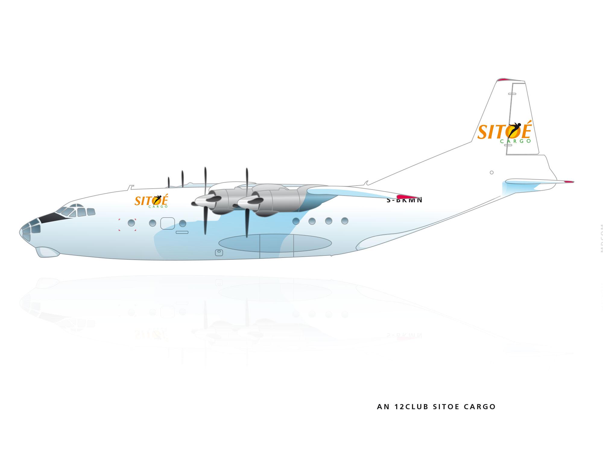 avion cargo AN12 club